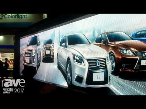 ISE 2017: Shenzhen Liantronics Talks About LED Display