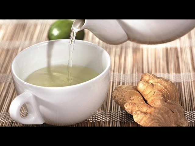 ★ Польза имбирного чая. Снижает температуру, помогает похудеть, помогает от тошноты