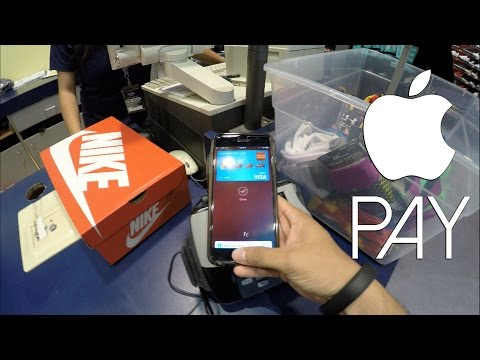 Using Apple Pay At Champs Sports In 4K