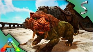 SABERTOOTH BREEDING & IMPRINTING! STARTING THE SABER ARMY! | Ark: Survival Evolved [S3E10]
