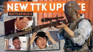 THIS IS DESTROYING THE BATTLEFIELD COMMUNITY - Battlefield 5 TTK Debacle Update