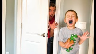 Dad Scares 5 Year Old OVER and OVER!