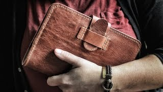 Making a Leather Journal Cover
