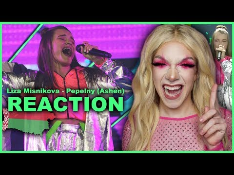 BELARUS - Liza Misnikova - Pepelny (Ashen) | Junior Eurovision 2019 REACTION
