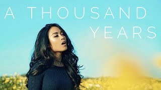 A Thousand Years - Christina Perri (Jules Aurora Cover)