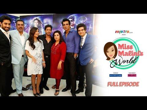 MissMalini's World Episode 2 (FULL EPISODE) #MMWorld - Shah Rukh Khan, Abhishek Bachchan & More!