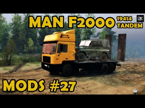 Spin Tires Mod Review #27 - Man F2000 19414 Tandem