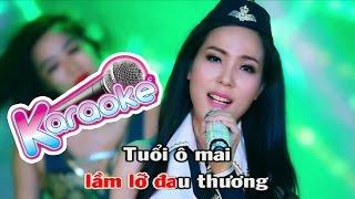 Tình Tuổi Ô Mai Remix Karaoke - Beat Chuẩn Diệp Hoài Ngọc