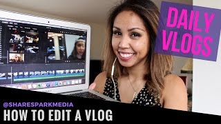 VIDEO EDITING TUTORIAL | How to Edit a Vlog in iMovie