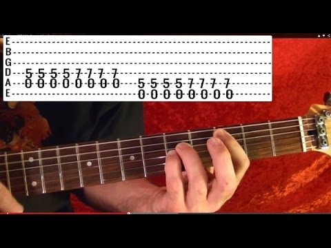 Easy! Nirvana - Rape Me - How To Play - Free Online Guitar Lessons With Tabs video