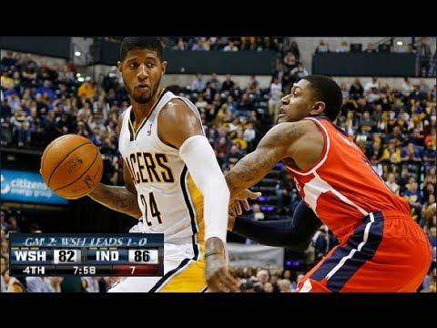 Indiana Pacers 86 Washington Wizards 82 Game 2 Nba Playoffs 2014 (Game Recap)