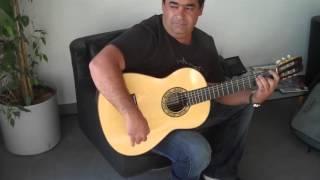 Hermanos Conde 2008 flamenco guitar played by Tonio Baliardo Gispy Kings