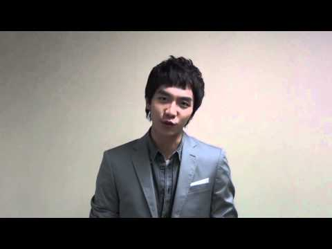 Lee Seung Gi's Video Message For Donghaeng video