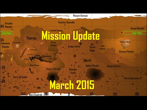 Mars One Mission Update: March 2015