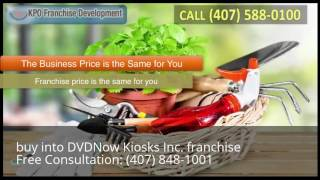 buy into DVDNow Kiosks Inc. franchise