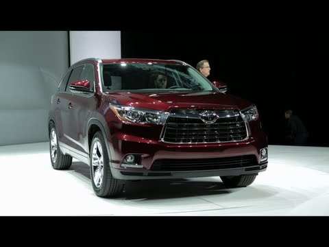 2013 Toyota Highlander - 2013 New York Auto Show