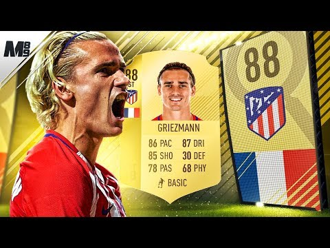 FIFA 18 GRIEZMANN REVIEW | 88 GRIEZMANN PLAYER REVIEW | FIFA 18 ULTIMATE TEAM