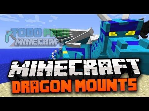 Como instalar mods  en minecraft PE 0.14.2 mas review al mod   de dragón mounts epico mod