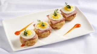 Cách làm Bánh Khoai Mì Trứng Cút
