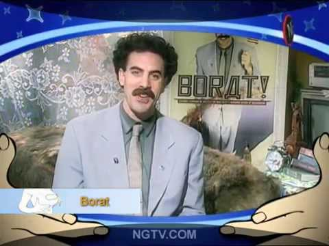 BORAT loves Carrie Keagan! Uncensored...the first chapter