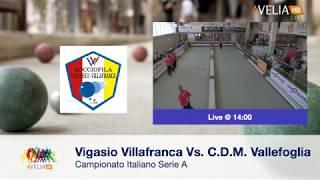 Serie A Raffa - Museo Nicolis Vigasio Villafranca-CDM Vallefoglia