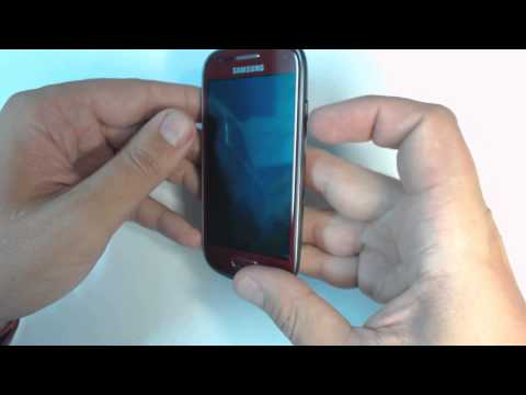 Samsung Galaxy S3 mini I8190 - How to put phone in