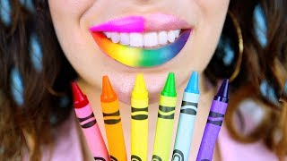 Crayola Makeup VS DIY Crayons Turned Into Makeup!