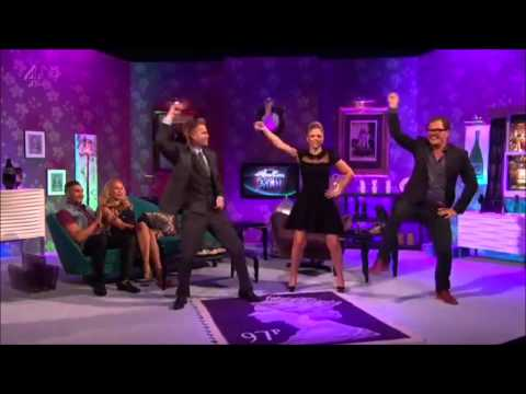 Nicky Byrne (westlife) Dances gangnum Style video