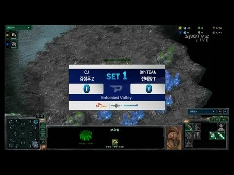 SPL [03.05] effOrt(CJ) vs TY(8th) 1SET / WCS Entombed Valley - Starcraft 2,esportstv