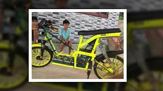Xe đạp điện độ Dương Thiên Tân