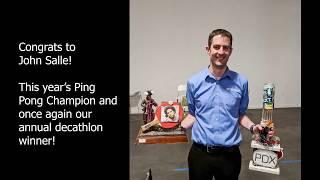 Ping Pong Tournament 2018