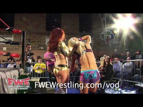 Angelina Love vs Maria Kanellis from FWE No Limits 2013