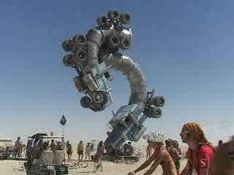 Burning Man 2007 Semi Trucks(Big Rig Jig) by Mike Ross AquaBurn.com