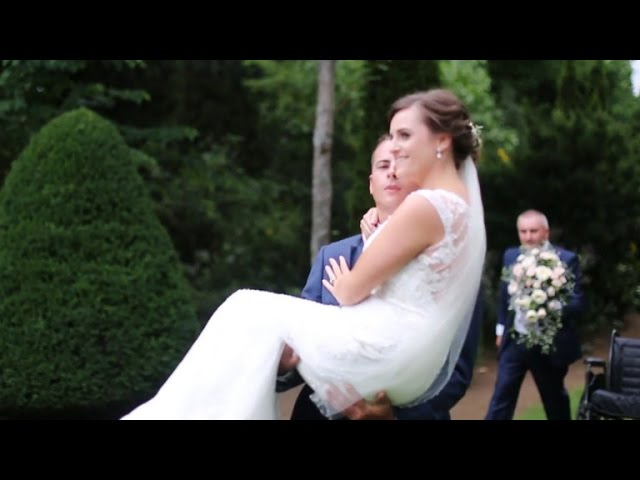 The Wedding Must Go On: Groom Carries Injured Bride Down Aisle After Accident