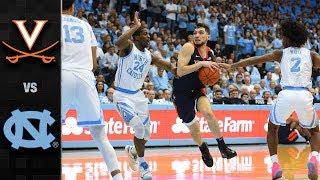 Virginia vs. North Carolina Basketball Highlights (2018-19)