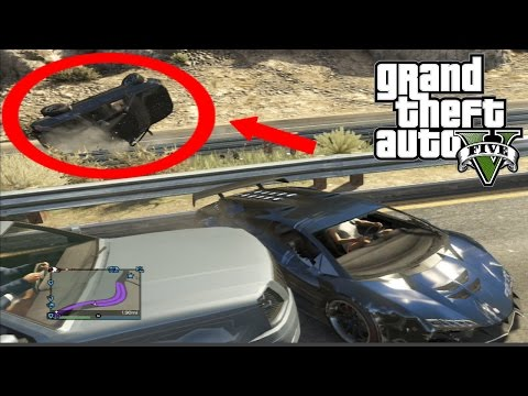 Best Car Crash Compilation #4 In Grand Theft Auto 5 (GTA V)