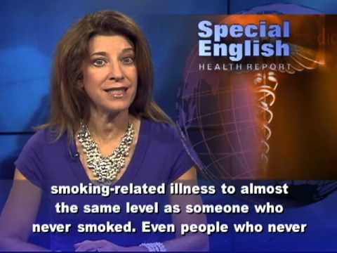 For Smokers, Never Too Late to Quit; Diesel Exhaust and Cancer