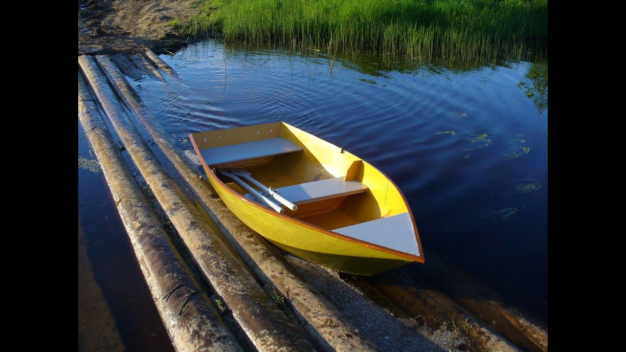 Устойчивая лодка своими руками