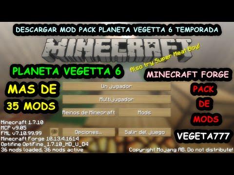 Descargar Modpack Planeta Vegetta 6 Temporada   Descargar Pack De Mods Planeta Vegetta 6 Temporada