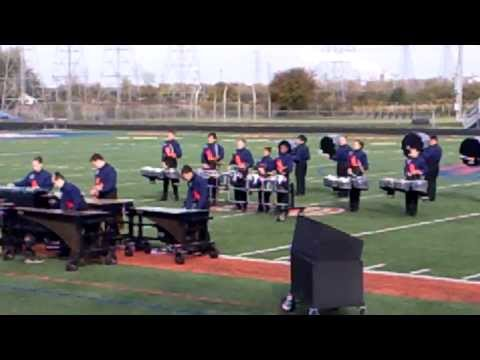 Romeoville High School Percussion 10-2013. First place winners