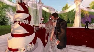 Joe and SongBird Second Life Wedding - 8.6.16