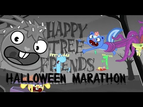 Happy Tree Friends Halloween Marathon video