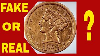 DISCOVERY OF A LIFETIME! RARE $5 GOLD COIN FOUND! RARE GOLD COIN WORTH MILLIONS!