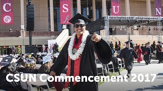 CSUN Commencement 2017: Health & Human Development I