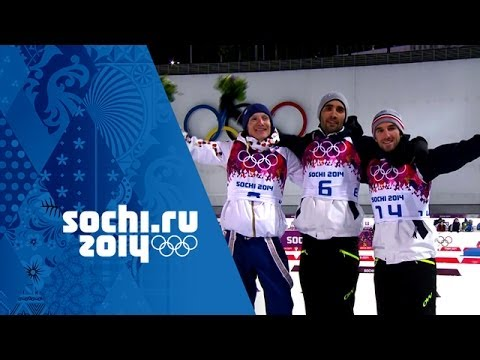 Men's Biathlon Golds Inc: The Fourcade Legacy Continues | Sochi Olympic Champions