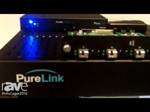 InfoComm 2016: Purelink Introduces 16×16 Cross-Platform Modular Matrix Router