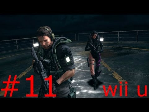 GAMEPLAY RESIDENT EVIL REVELATIONS WII U HD - PARTE 11 - Raymond es un traidor