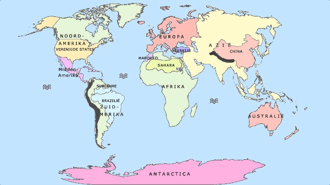 Topografie de wereld de grote reis 6a youtube - Salontafel herbergt de wereld ...