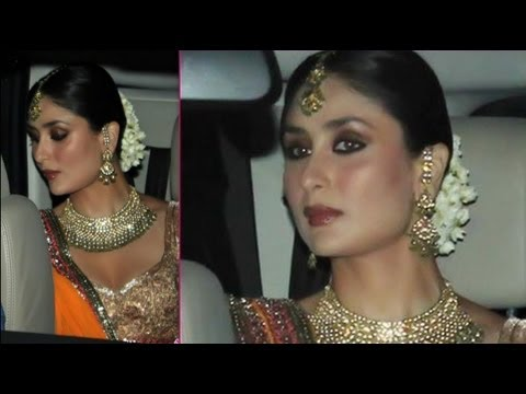 Bollywood Actress Kareena Kapoor S Bridal Makeup