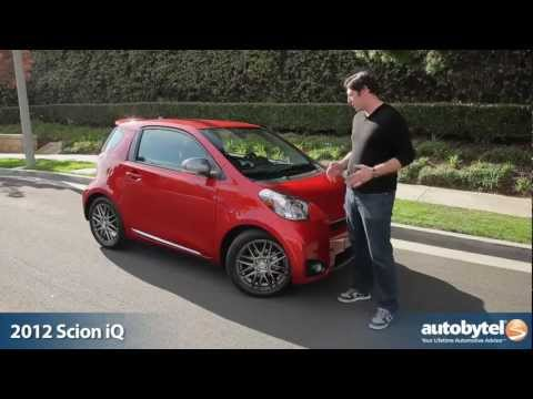 2012 Scion iQ Test Drive & Car Review